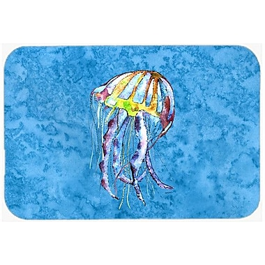 Caroline's Treasures Jellyfish Kitchen/Bath Mat; 24'' H x 36'' W x 0.25'' D