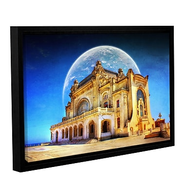 ArtWall 'Astral Casino' by Dragos Dumitrascu Framed Graphic Art on Canvas; 32'' H x 48'' W