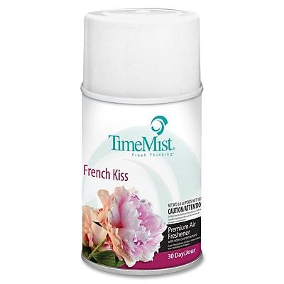 TimeMist® Metered Aerosol Fragrance Dispenser Refills, 6.6 oz, French Kiss, 12/Carton (1042824)