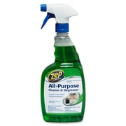 Zep Commercial All-Purpose Cleaner/Degreaser, Ready-To-Use Spray, 0.25 gal (32 fl oz), 12/Carton, Green (ZPE1047497CT)