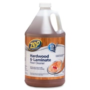 Zep Commercial Hardwood/Laminate Floor Cleaner, Ready-To-Use, 1 gal (128 fl oz), 4/Carton, Blue (ZPE1041692CT)