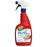 Zep Commercial High Traffic Carpet Cleaner, Spray, 0.25 gal (32 fl oz), 12/Carton, Red (ZPE1044998CT)