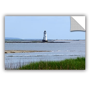 ArtWall Tybee Islands Unofficial Lighthouse by Lora Mosier Photographic Print; 32''H x 48'' W