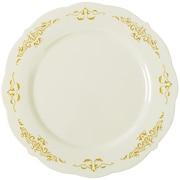 Fineline Settings, Inc Heritage Embossed Salad Plate (Set of 12)