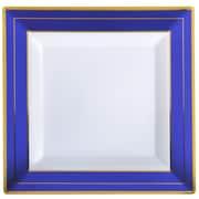 Fineline Settings, Inc Square Splendor Dinner Plate (Set of 12)