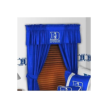 Sports Coverage NCAA 88'' Duke Blue Devils Curtain Valance