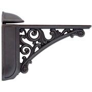 Bosetti-Marella Viola Adjustable Decorative Shelf Bracket; Oil Rubbed Bronze