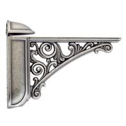 Bosetti-Marella Viola Adjustable Decorative Shelf Bracket; Old Iron