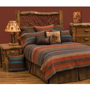 Wooded River Tombstone II Bed Skirt; King