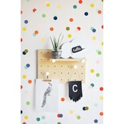 The Lovely Wall Company Rainbow Tiny Dots Wall Decal