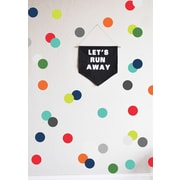 The Lovely Wall Company Confetti Dots Wall Decal; Very Boy