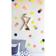 The Lovely Wall Company Confetti Dots Wall Decal; Colorful