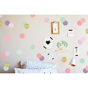 The Lovely Wall Company Confetti Dots Wall Decal; Girly Girl