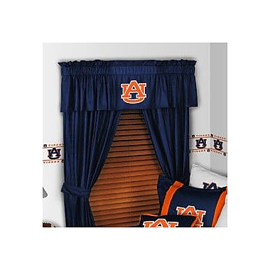 Sports Coverage NCAA 88'' Auburn Tigers Curtain Valance