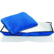 Conair® Travel Smart® Zippered Travel Fleece Pillow, Navy (TS020NVY)