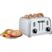 Cuisinart® 4-Slice Metal Classic Toaster, White (CPT-180W)