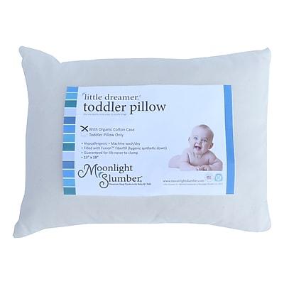 Moonlight Slumber® Little Dreamer™ Fusion Fiberfill Toddler Pillow (PRETOD-O)