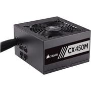 Corsair® CX Series™ Semi-Modular ATX Power Supply, 450 W (CX450M)