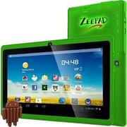 "Worryfree Gadgets® 7DRK-Q 7"" Tablet, 4GB, Android 4.4 KitKat, Green"