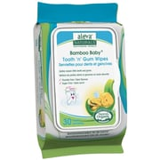 Aleva Naturals® Bamboo Baby® Tooth 'n' Gum Cleaning Wipes, 180 Count (37980)