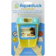 Aqueduck® Faucet Extender, Aqua/Yellow (001)