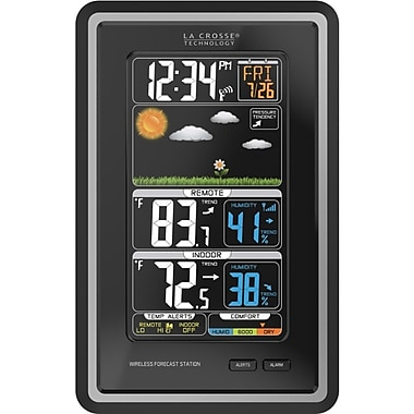 LaCrosse® Wireless Color Weather Station, 300' (308-1425C) (308-1425C )