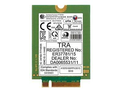 HP® lt4120 LTE/EV-DO/HSPA+ WWAN Wireless Module (N8T16UT#ABA)