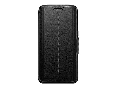 OtterBox Strada Series Case for Galaxy S7 Edge, Onyx Black (77-53185)