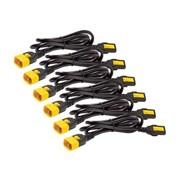 APC® Power Cord Kit, 4', 6/Pack (AP8704S)
