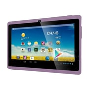 "Worryfree Gadgets® 7DRK-Q 7"" Tablet, 4GB, Android 4.4 KitKat, Purple"
