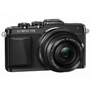 Olympus – Appareil photo sans miroir PEN E-PL7 de 16,1 Mpx, avec objectif 14/42 mm, noir