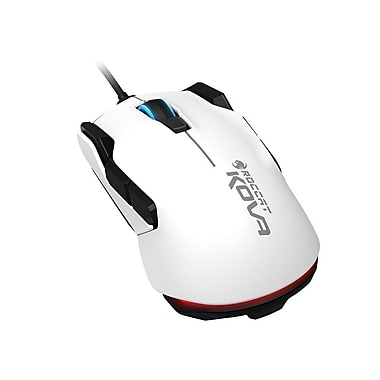 ROCCAT Kova Pure Performance Gaming Mouse, White, (ROC-11-503-AM)