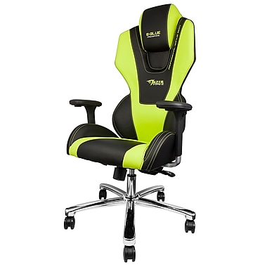 E-Blue Mazer Gaming Chair, Green, (EEC304GRAIA)