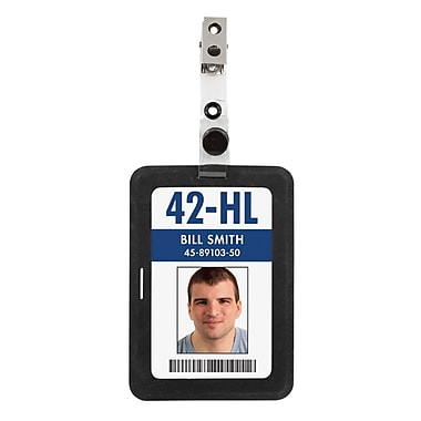 Merangue Silicone ID Badge Holder, Assorted