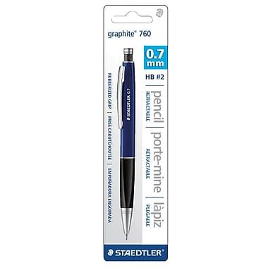 StaedtlerMD – Portemine en graphite 760, 0,7 mm, bleu
