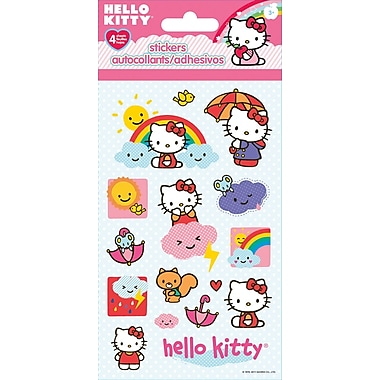 Sandylion® Hello Kitty Stickers, 4 Sheets/Pack