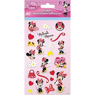 Sandylion® Minnie Mouse Stickers, 4 Sheets/Pack