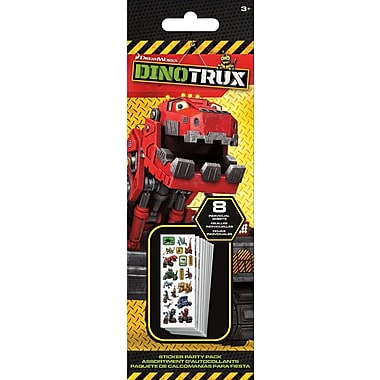 Sandylion® DinoTrux Stickers, 8 Sheets/Pack