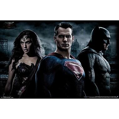Trends – Affiche, 23 x 34 po, Trio Batman vs Superman
