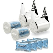 Tidymates® SNAP N GO FLUSHABLE WIPE AND TOILET PAPER SYSTEM Family Pack Starter Set - BEST VALUE (DC-B4)