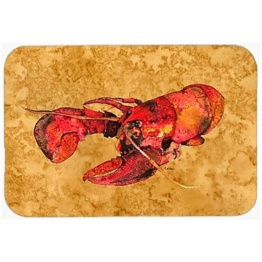 Caroline's Treasures Lobster Kitchen/Bath Mat; 20'' H x 30'' W x 0.25'' D