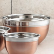 Cook Pro Stainless Steel Mixing Bowl; 5 Qt