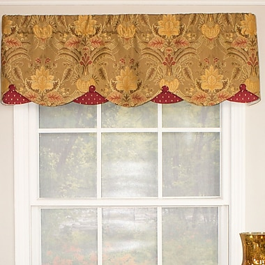 RLF Home Margaret Petticoat Curtain Valance