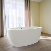 Aquatica Sensuality 66.5'' x 33'' Freestanding Soaking Bathtub