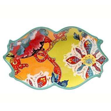 Tracy Porter Scotch Moss Oval Platter
