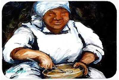 Caroline's Treasures Hot Water Cornbread Kitchen/Bath Mat; 20'' H x 30'' W x 0.25'' D