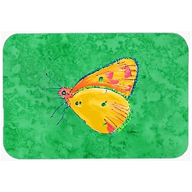 Caroline's Treasures Butterfly Kitchen/Bath Mat; 24'' H x 36'' W x 0.25'' D