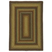 Homespice Decor Canterbury Gold Indoor/Outdoor Area Rug; 1'8'' x 2'6''