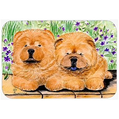 Caroline's Treasures Chow Chow Kitchen/Bath Mat; 20'' H x 30'' W x 0.25'' D