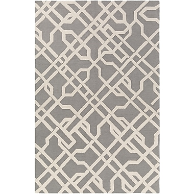 Artistic Weavers Marigold Catherine Hand-Crafted Gray Area Rug; 7'6'' x 9'6''